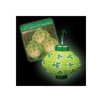 St. Patrick's Day  Light Up Lanterns