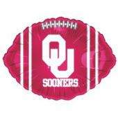 Oklahoma Sooners Metallic Balloon - 18 Inch
