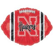 "Nebraska Cornhuskers Metallic 18"" Balloon"