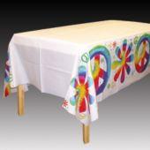Woodstock Tie Dye Table Cover