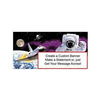 Space Odyssey Custom Banner