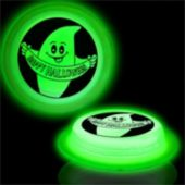 Happy Halloween Green Glow Badge-3""