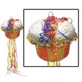 "Happy Birthday Cupcake 20"" Pinata"
