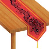 Chinese Dragon Table Runner