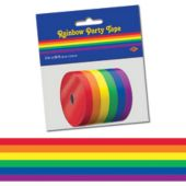 50 Foot Rainbow Poly Decorating Roll