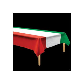 RED, WHITE, GREEN TABLE COVER
