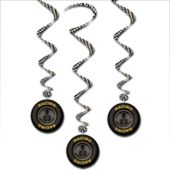 Race Car Dangler Decorations-3 Pack