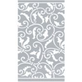 Silver Scroll Guest Towels - 16 Pack