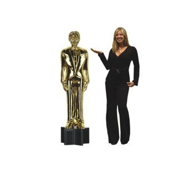 Awards Night Statue    5 12' Cutout