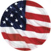 "American Flag 7"" Plates - 8 Pack"