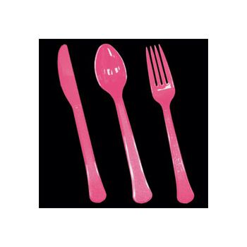 Hot Pink Table Ware