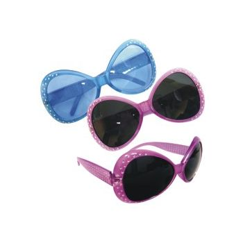 BLUE & PINK    STUDDED SUNGLASSES
