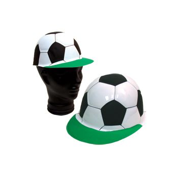 SOCCER BALL   PLASTIC HATS