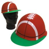 Football Cap (Plastic) - 12 Pack