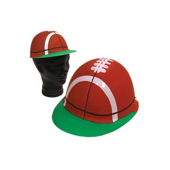FOOTBALL   PLASTIC HATS