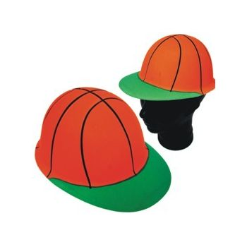 BASKETBALL   PLASTIC HATS