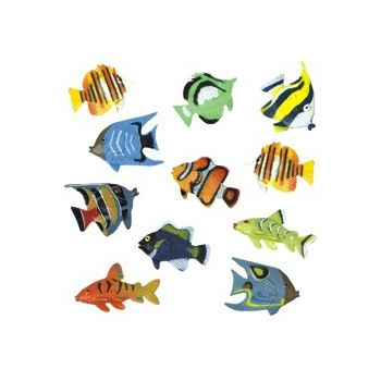 TROPICAL PLASTIC FISH
