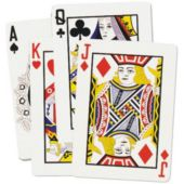 Playing Cards Cutouts-4 Per Unit