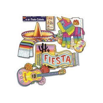 MEXICAN FIESTA CUTOUTS