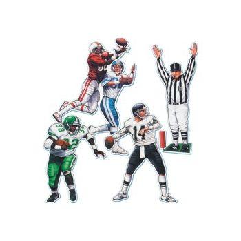 FOOTBALL PLAYER CUTOUTS