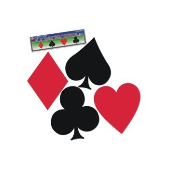 Playing Card Suit Cutouts