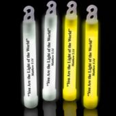 "Matthew 5:14 - 6"" Glow Sticks - 25 Pack"