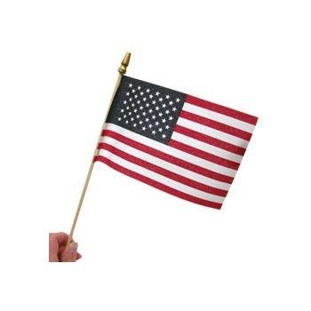 "American Flags 4"" x 6"""