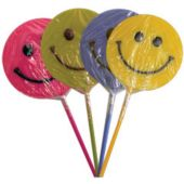 Smiley Face Lolli Pops - 24 Per Unit