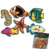 Tropical Fish Cutouts