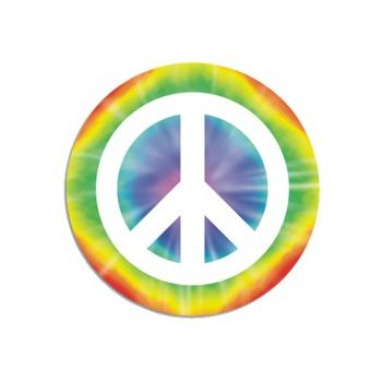 PEACE SIGN CUTOUT