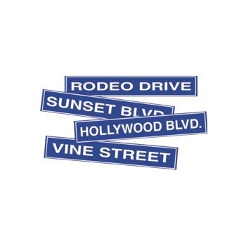 HOLLYWOOD STREETS   CUTOUTS