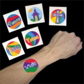 Inspirational Tattoos - 144 Pack