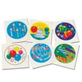 Birthday Tattoos  - 144 Pack