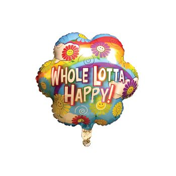 Whole Lotta Happy Birthday Balloons - 18 Inch, 10 Pack