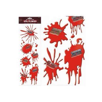 BLOOD SPLATTER CLINGS