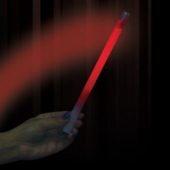 Red Concert Glow Sticks - 10 Inch, 25 Pack