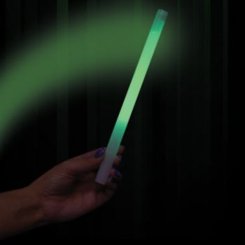 Green Concert Glow Sticks - 10 Inch, 25 Pack