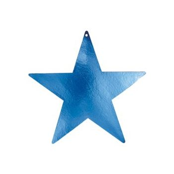 BLUE STAR   FOIL CUTOUTS