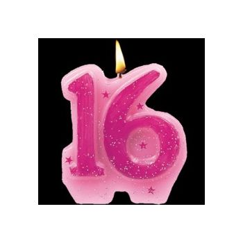 SWEET 16   SPARKLE CANDLE