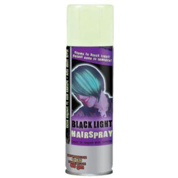 black light hair spray windy city novelties