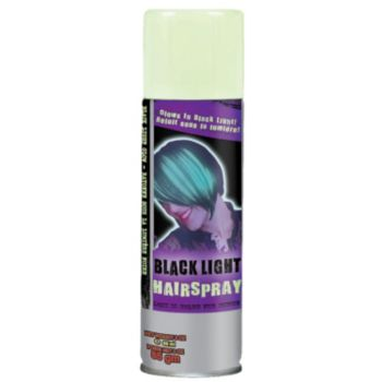 Black Light Hair Spray - 3 Ounce