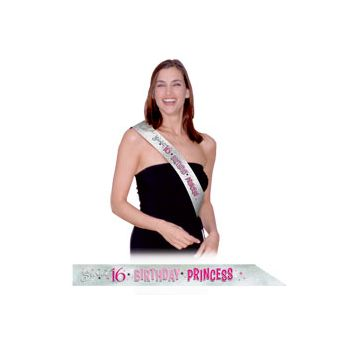 SWEET 16  SPARKLE SASH