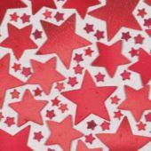 Red Star Confetti