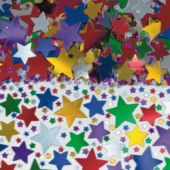 Multi Color Star Confetti