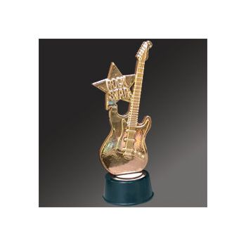 ROCK STAR HERO   GUITAR TROPHY
