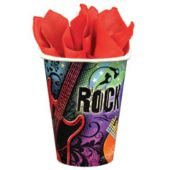 Rock Star Hero 9 Oz Cups - 18 Pack