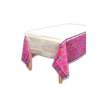 PRINCESS PLASTIC   TABLE COVER