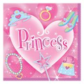 Princess Lunch Napkins - 16 Pack