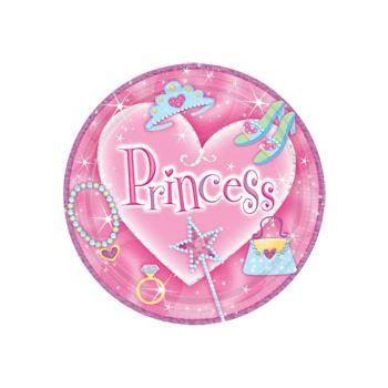 "PRINCESS   9"" PLATES"