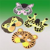 Animal Masks - 12 Pack